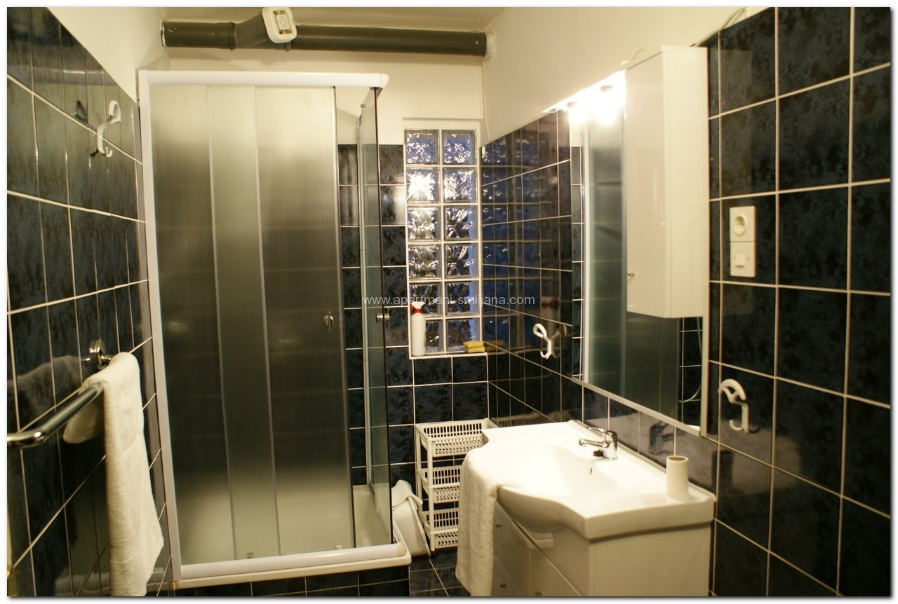 Bathroom in Apartment 1 (A2+1)